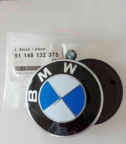 Нова Емблема БМВ / BMW 82/78/74/68/56/44/11 мм Алуминиева Предна Задна