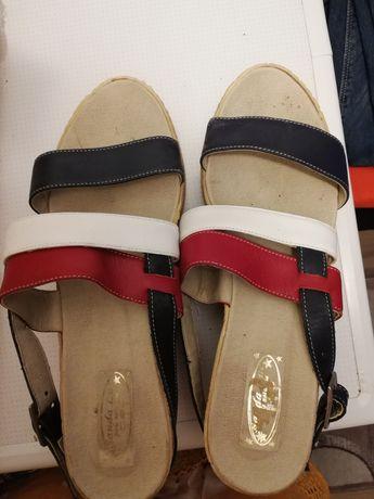 Sandale damă piele