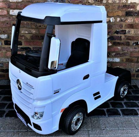 Camion electric pentru copii Mercedes Actros 4x35W 24V #White