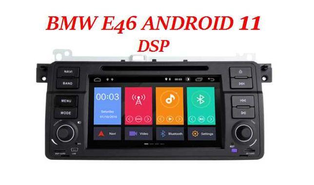 GPS Navigatie Android 11 BMW Seria 3 E46 Navigatie noua sigilata DSP