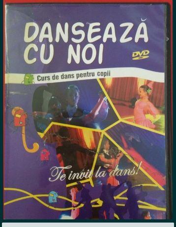 Curs de dans, pentru copii [DVD]. Vals, Tango, Samba, Cha-Cha