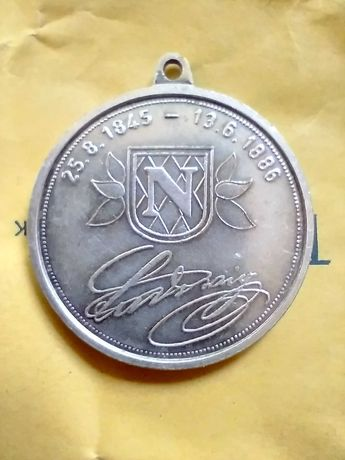 медал Крал Лудвиг II от Бавария