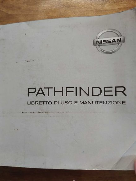 Оригинална книжка за Nissan Pathfinder