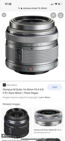 Обектив Olympus M.ZUIKO DIGITAL 14-42mm f/3.5-5.6
