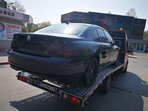 BMW 750i E65 Е65 5.0 на части 7 series