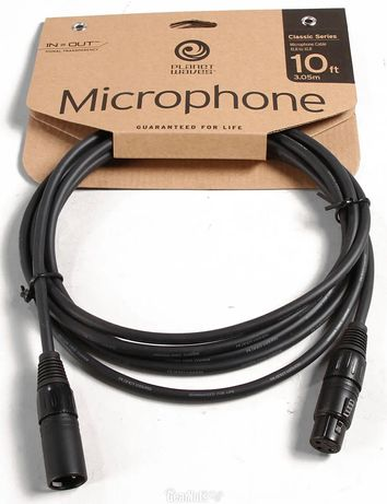 Микрофонный кабель XLR Planet Waves