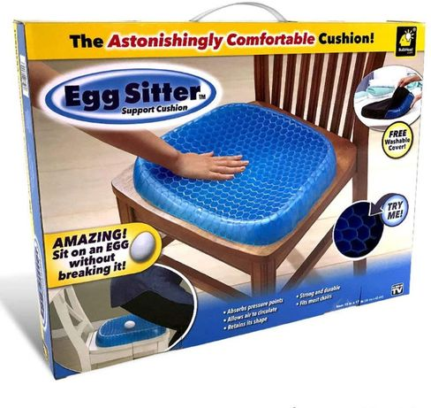 Egg sitter - мека ортопедична гел възглавница за стол
