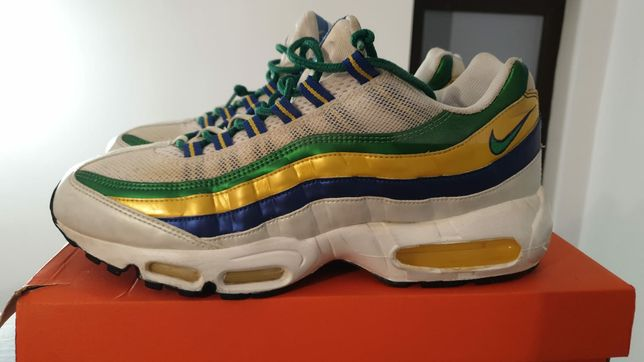 """Nike Air Max 95 """"Brazil World Cup"""" Limited Edition mărime 45"""