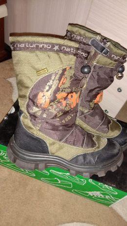 обувь зимняя р-р 33-34 на мальчика