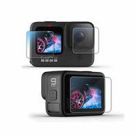 Стъклен протектор garv™ за gopro hero 9 black, за екраните и обектива