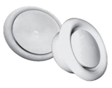 Анемостат, диффузор приточно-вытяжной метал/пласт. универсальный PAV
