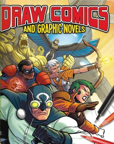 Super carte desen, cum sa devii artist de benzi desenate, format mare