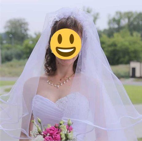 Свадебное платье + фата + в подарок