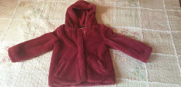 Детско яке-палто за момиче Knot So Bad - размер 116 см / 6 г.