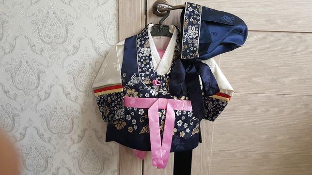 Корейский костюмчик ханбок на мальчика