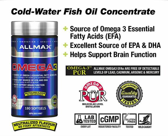 Allmax Omega 3 Nutrition