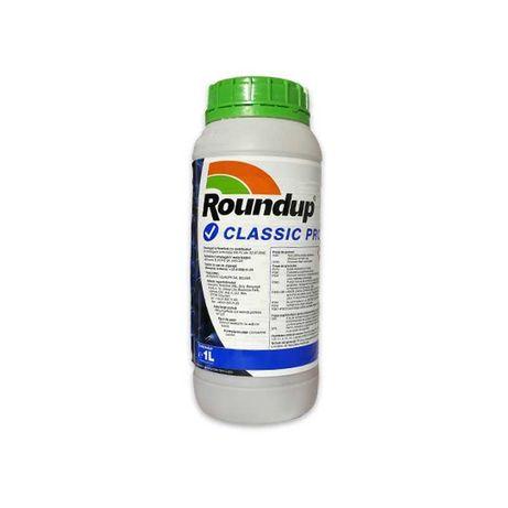 Erbicid total RoundUp Classic Pro, pentru buruieni, copaci, vie