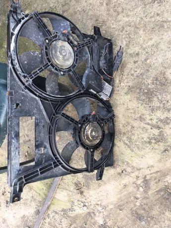 Ventilator radiator freelander td4