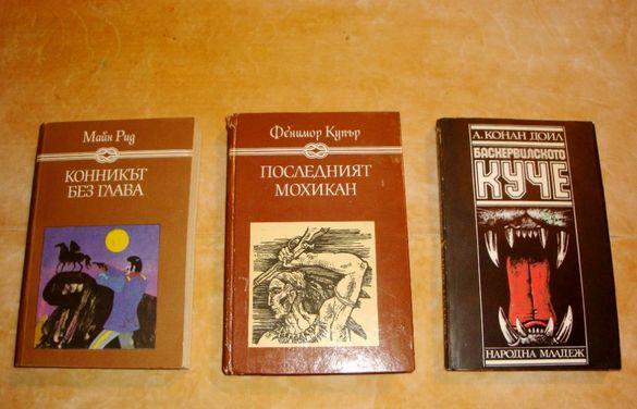 Книги- Конника без глава, Последния мохикан, Баскервилското куче