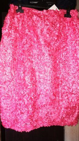 Нова пола, цвят корал, размер L