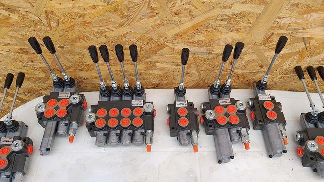 Distribuitor hidraulic ,spargator lemne, presa ,incarcator cu blocaj