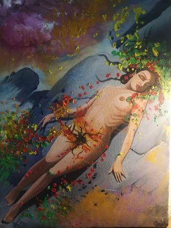 vand tablou pictura in ulei