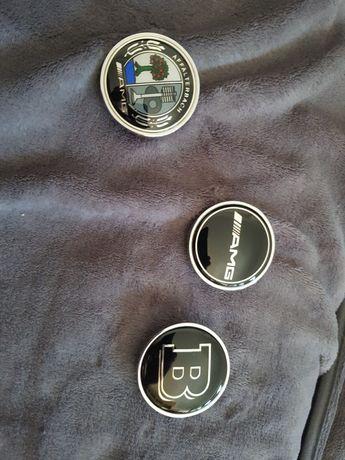 Emblema sigla logo capota amg brabus cu tot cu sistem prindere