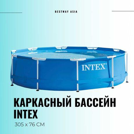 Каркасный бассейн Intex 305×76 см
