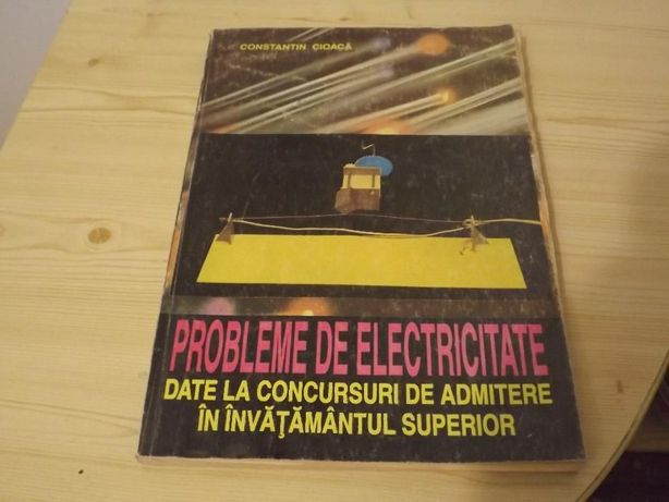 Probleme de electricitate Cioaca