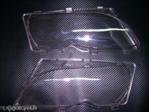 Стъкла за фарове комплект за BMW e46 01-05 4 врати ,комби