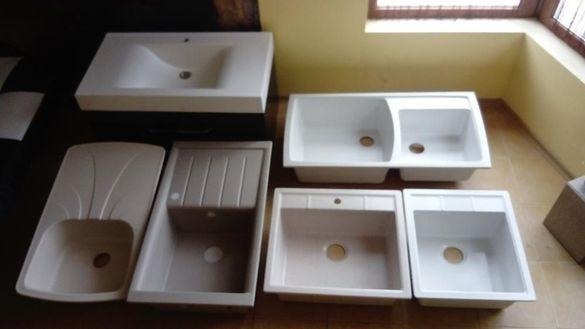 Полимерни мивки за баня