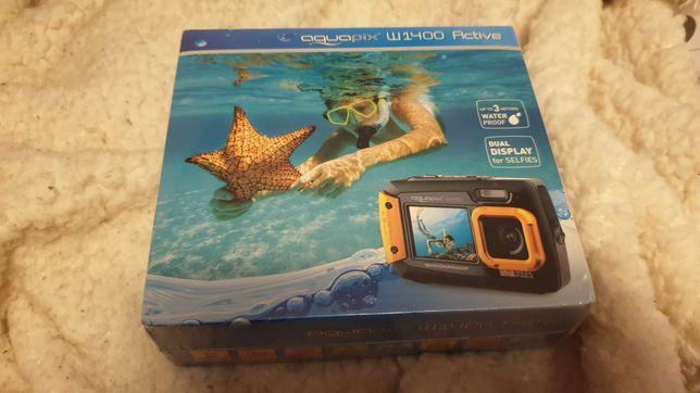Camera foto subacvatica Aquapix W1400 Active, Shockproof,Noua,Sigilata