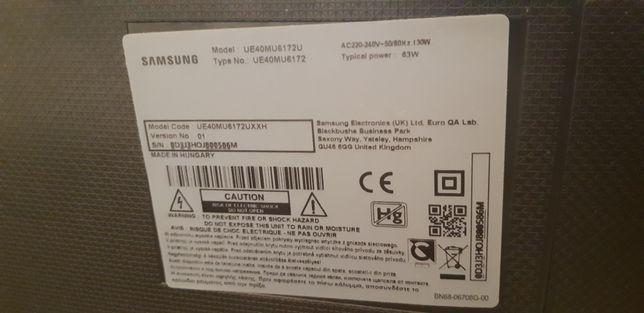 Samsung TV UE40MU6172U - sursa de alimentare