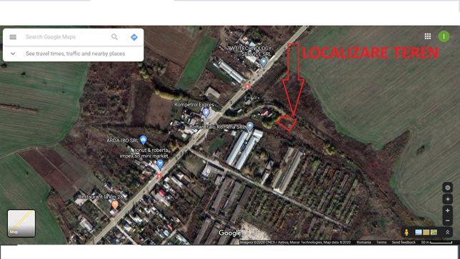Vand teren 1000mp Gorneni, 14eur/mp negociabil, 20km de Bucuresti