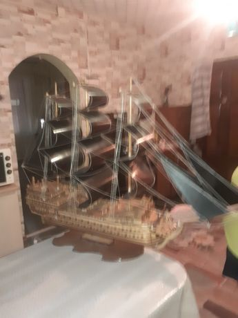 Корабль ручная работа