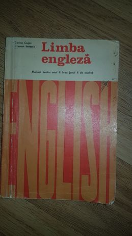Limba engleza-Manual pentru anul II liceu (anul II de studiu)