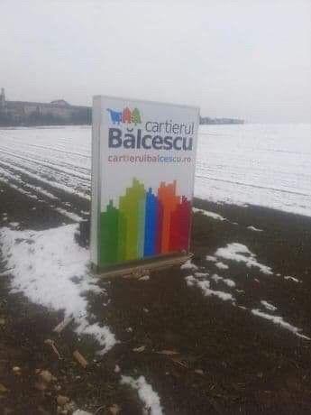 Teren extravilan in Balcescu
