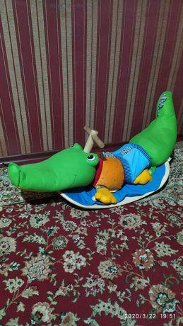 """Продам детскую качалку """"Крокодил"""""""
