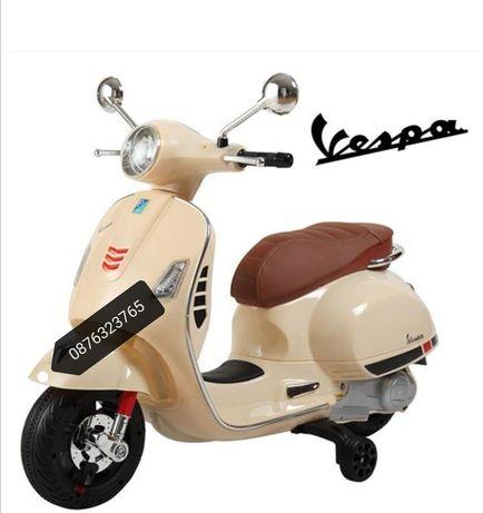 Детски електрическа скутер Vespa Детски играчки мотор