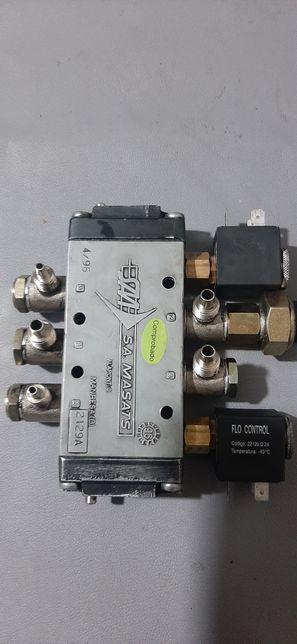 Supape electromagnetice Masats 2129A deschidere usi autocar Irizar