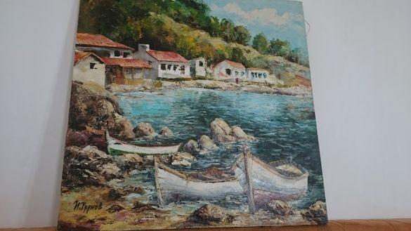картина на Ивайло Узунов масло 2003