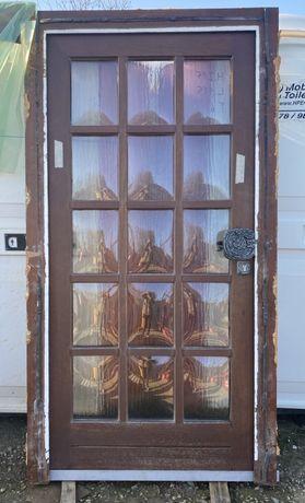 Usa casa firma vila lemn geam termopan H 215 x L 115 Germania