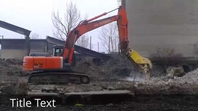 Demolari mecanizate case sau cu utilaje + evacuare deseuri