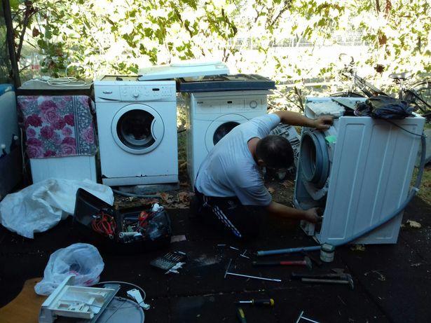 Reparați Maşini de Spălat şi Frigidere orice model 24/24