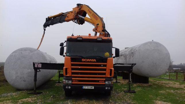 Inchiriem camion cu macara / stivuitor teren / generator 380v / nacela