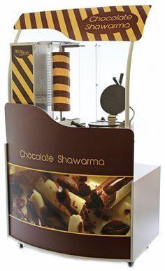 шоколадов дюнер с количка