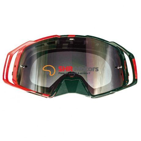 Ochelari MX EVO stripes negru / rosu