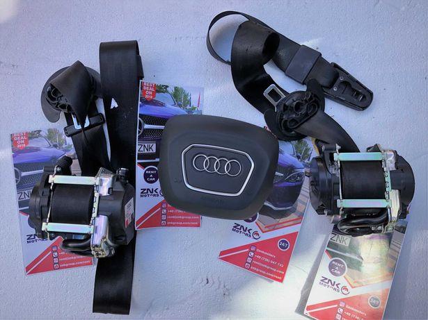 Audi A4 B8 B9 8w kit airbag volan pasager plansa de bord hud centuri
