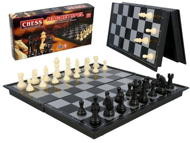 Магнитные шахматы+шашки 30 см.