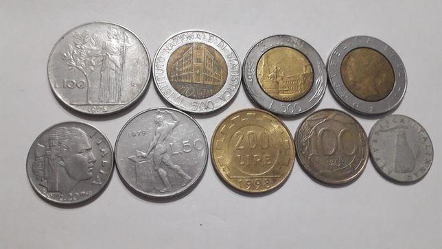 Vand diferite monede